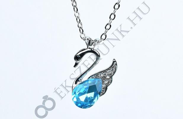 Hattyú nyaklánc - kék
